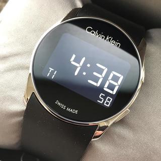 Calvin Klein - カルバンクライン デジタルウォッチ 時計 ブラック ラバーベルト  ユニセックス