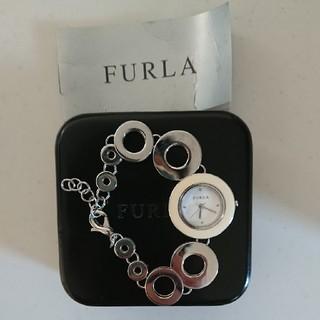 フルラ(Furla)のFURLA ブレスレット型腕時計 白(腕時計)