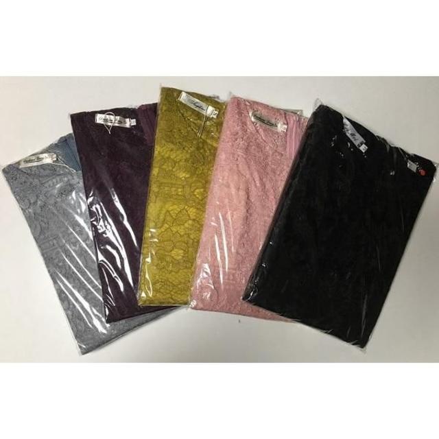 限定価格‼ 総レース 黒 L ワンピース ドレス フレア レディースのフォーマル/ドレス(ミディアムドレス)の商品写真