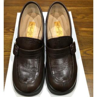 アシナガオジサン(あしながおじさん)のあしながおじさん こげ茶ローファー24.0(ローファー/革靴)