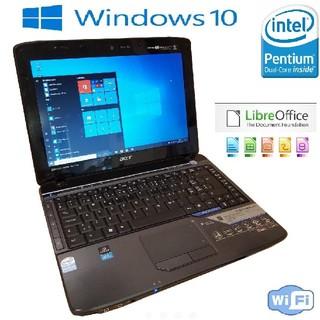 エイサー(Acer)の高速SSD Dual Core win10 4gb LibreOffice(ノートPC)