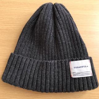 トゥデイフル(TODAYFUL)のTODAYFUL ニット帽 ニットキャップ(ニット帽/ビーニー)