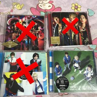 ニュース(NEWS)のNEWS シングル CD(ポップス/ロック(邦楽))