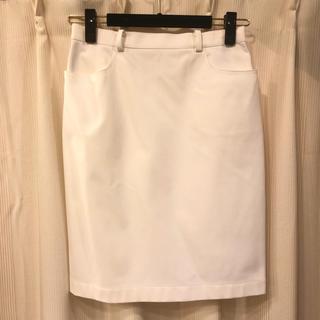 サンローラン(Saint Laurent)のYVES SAINT LAURENT スカート(ひざ丈スカート)