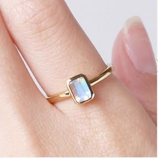 オレフィーチェ Orefice ブルームーン セーラリング YG 15号 指輪(リング(指輪))