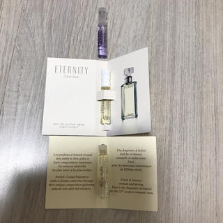 カルバンクライン(Calvin Klein)の香水 お試し ×3(ユニセックス)