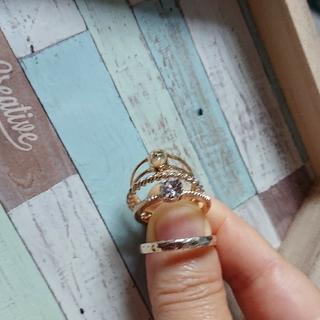 ローリーズファーム(LOWRYS FARM)のお買い得!指輪4本セット(下から20号、19号、15号、13号)(リング(指輪))
