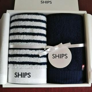 シップス(SHIPS)の《新品・今治産》シップス/フェイスタオル2枚セット(タオル/バス用品)