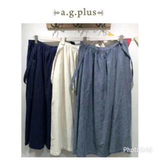 エージープラス(a.g.plus)のa.g.plus 肩ひもスカート(ロングスカート)