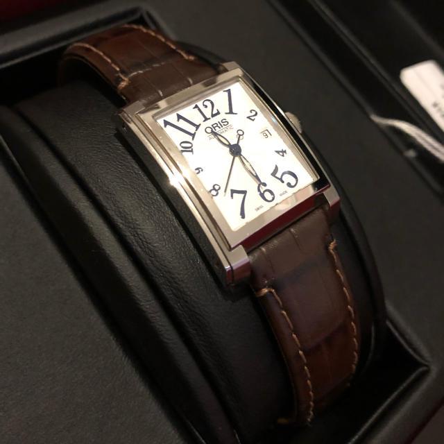 ORIS - オリス レクタンギュラー デイト 腕時計の通販 by ぅし's shop|オリスならラクマ