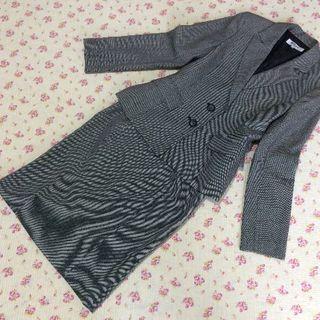 ナチュラルビューティーベーシック(NATURAL BEAUTY BASIC)のナチュラルビューティー スカートスーツ 上M下S W66 OL(スーツ)