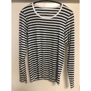 ムジルシリョウヒン(MUJI (無印良品))のボーダーロンT(Tシャツ(長袖/七分))