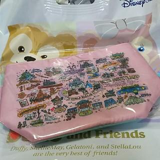Disney - ディズニー 手描き風  ランチケース
