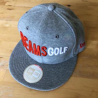 ビームス(BEAMS)のBEAMS GOLF × NEW ERA キャップ 新品未使用(その他)