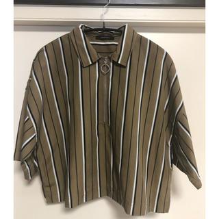 ジーナシス(JEANASIS)の半袖ハーフジップシャツ(シャツ/ブラウス(半袖/袖なし))