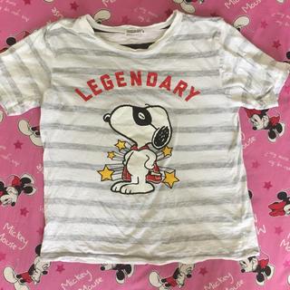 スヌーピー(SNOOPY)のスヌーピー Tシャツ S(Tシャツ/カットソー(半袖/袖なし))