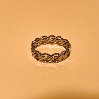 新品未使用 シルバーリング 指輪 7号(リング(指輪))