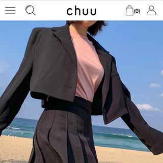 STYLENANDA - 韓国 chuu ショートジャケット