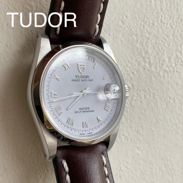 Tudor - TUDOR 平置き-4秒☆Rolex兄弟ブランドの通販 by バレンシア's shop|チュードルならラクマ