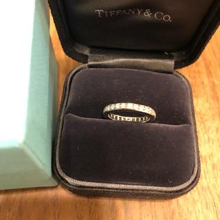 Tiffany & Co. - ティファニー pt950 ダイヤモンド フルエタニティ リング 11号 3ミリ幅