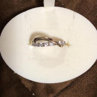 スタージュエリー(STAR JEWELRY)のStar jewelry K18 シルバー リング(リング(指輪))
