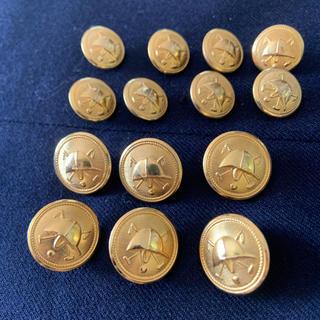 ポロラルフローレン(POLO RALPH LAUREN)のラルフローレン ブレザーボタン ゴールドヘルメット (テーラードジャケット)