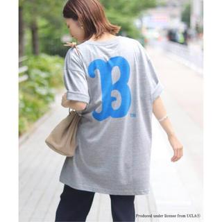 フレームワーク(FRAMeWORK)のタグ付き新品!2019SSフレームワーク ビッグTシャツ グレー(Tシャツ(半袖/袖なし))