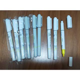 ミツビシエンピツ(三菱鉛筆)の三菱 プロマーク 蛍光ペン付き ボールペン 9本セット(ペン/マーカー)