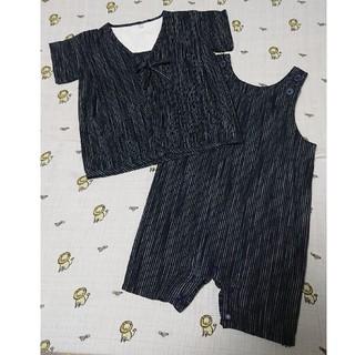 ムジルシリョウヒン(MUJI (無印良品))の無印良品 甚平 サイズ90(甚平/浴衣)