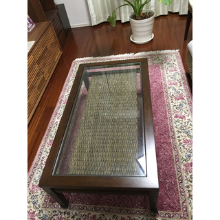 ムジルシリョウヒン(MUJI (無印良品))の新品未使用☆ a.flat アジアンリゾート風 ローテーブル(ローテーブル)