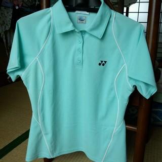 ヨネックス(YONEX)の水色Tシャツ(ポロシャツ)