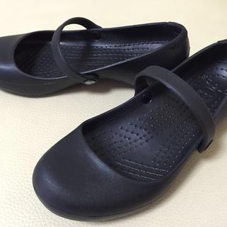 クロックス(crocs)のクロックス本物⭐️W6 ⭐️2回使用(ローファー/革靴)