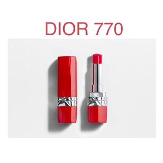 ディオール(Dior)のルージュ ディオール ウルトラ ルージュ 770 ウルトラ ラブ(口紅)