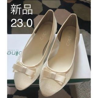 マルイ(マルイ)の新品  日本製 パンプス  23.0(ハイヒール/パンプス)