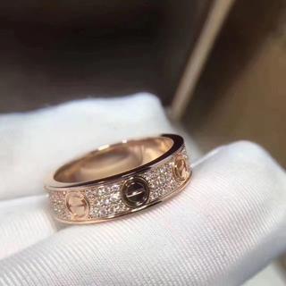 カルティエ(Cartier)のカルティエ ラブリング ダイヤ(リング(指輪))