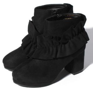 ナイスクラップ(NICE CLAUP)の新品♡定価7452円 ナイスクラップ ブーツ BLACK orブラウン 大特価!(ブーツ)