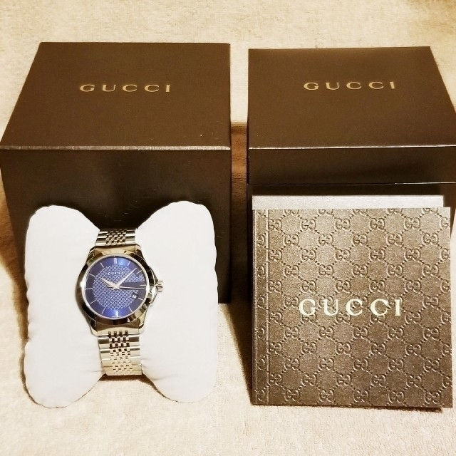 Gucci - GUCCI 時計 グッチ Gタイムレス 極美品 ギフト クオーツ 箱付の通販 by k-bomb's shop|グッチならラクマ