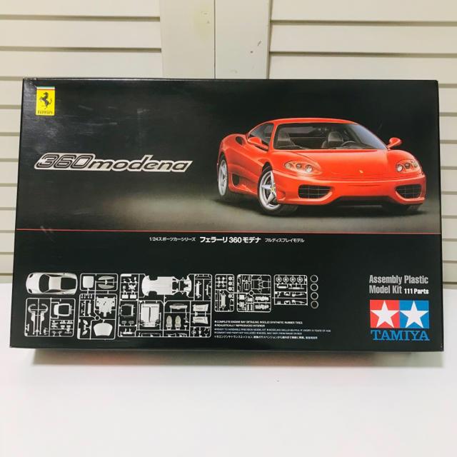Ferrari(フェラーリ)のタミヤ模型 フェラーリ F360 モデナ 1/24 Ferrari プラモデル エンタメ/ホビーのおもちゃ/ぬいぐるみ(模型/プラモデル)の商品写真