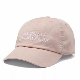 ヴィクトリアズシークレット(Victoria's Secret)のヴィクシー VS Pink ベースボールキャップ 帽子 ベージュ Beach(キャップ)