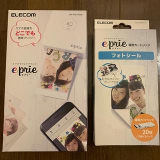 エレコム(ELECOM)の新品 エレコム モバイルフォトプリンター eprie 【フォトシールセット】(その他)