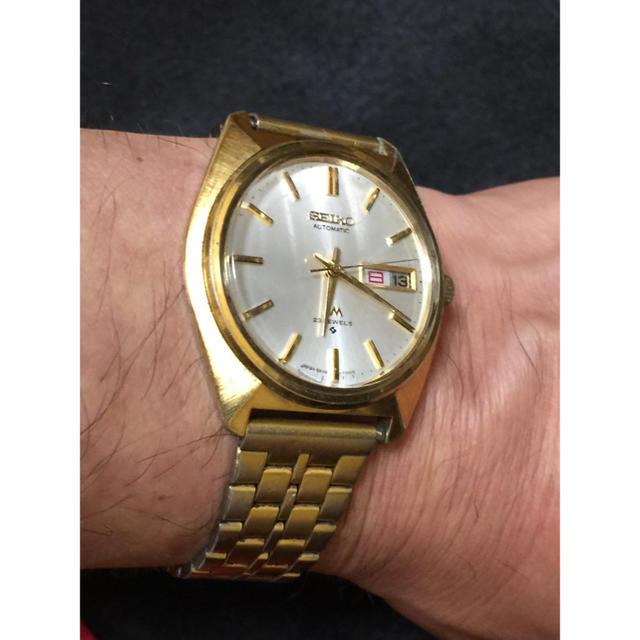 SEIKO - SEIKO  LM  金色  腕時計の通販 by satoru's shop|セイコーならラクマ