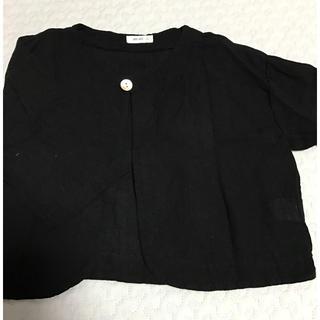 コドモビームス(こども ビームス)の未使用 uniuni カーディガン 羽織りもの xs(カーディガン/ボレロ)