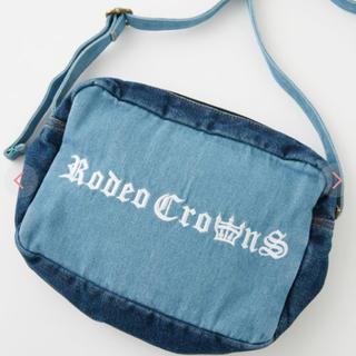 ロデオクラウンズワイドボウル(RODEO CROWNS WIDE BOWL)のロデオクラウンズ デニムショルダー(ショルダーバッグ)