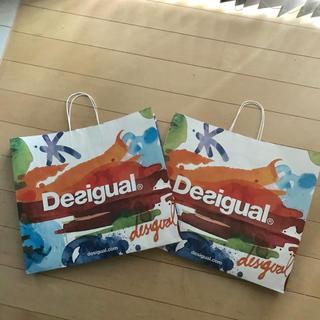 デシグアル(DESIGUAL)のDesigualショップ袋2P(ショップ袋)