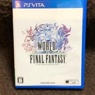 PlayStation Vita - ワールド オブ ファイナルファンタジー PS Vita版