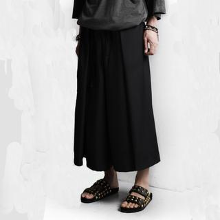 袴 パンツ メンズ ブラック