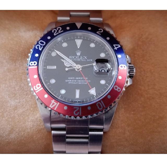 ROLEX - ロレックス GMTマスター 16700の通販 by ぽちょむ's shop|ロレックスならラクマ