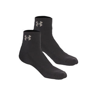 アンダーアーマー(UNDER ARMOUR)のアンダーアーマー ソックス MD ブラック 25 27 靴下 ショートソックス(ソックス)