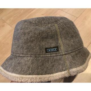 エーグル(AIGLE)のAIGLE 帽子 POLARTEC アウトドア(その他)