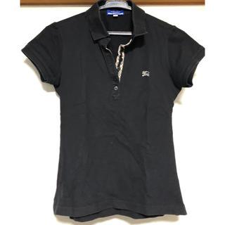 バーバリーブルーレーベル(BURBERRY BLUE LABEL)のバーバリーレディースポロシャツ38(ポロシャツ)
